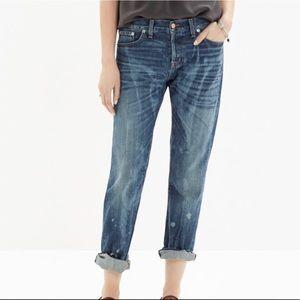 Madewell Rivet & Thread Selvedge Slim Boy Jean 32